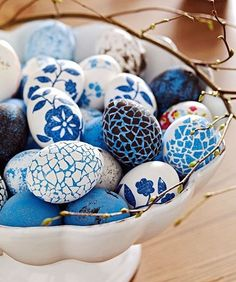 Easter Home: Easter Egg Decorating Ideas