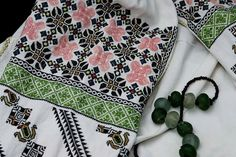 Floral Tie, Folk, Costume, Traditional, Blouse, Women, Fashion, Embroidery, Moda