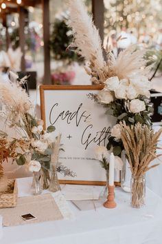 Boho Wedding Decorations, Wedding Centerpieces, Wedding Table, Fall Wedding, Dream Wedding, Wedding Signage, Floral Wedding, Neutral Wedding Flowers, Rustic Boho Wedding