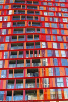 Rotterdam archi immeuble rouge