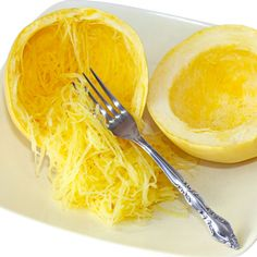 Spaghetti Squash 5 Ways to cook it! If you've never tried this you're really missing out. Great substitute for pasta, and supper easy!