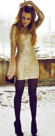 THINGS {SHE} LOVES: Columbus Wedding Planner | Holiday Party Outfit Inspiration  #holiday #party #outfit #winterfashion #winter #fashion #style #fashionista #NYE #christmas #skirts #sequin #festive #dress #longsleeves #inspiration #trendy #pittsburghweddingplanner #columbusweddingplanner #shaylahawkinsevents #spirit #grace #elegance #layers #tights #dress
