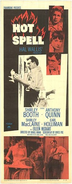 What a powder keg this movie was! Old Movie Posters, Cinema Posters, Film Posters, Earl Holliman, Shirley Booth, Donna Reed, Cult Movies, Films, Anthony Quinn