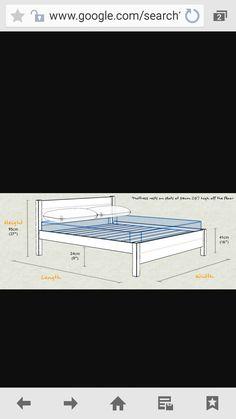 Steel Bed Frame, Beds, Metallic, Bedding, Bed
