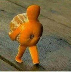 Orange ya gonna laugh at this?!