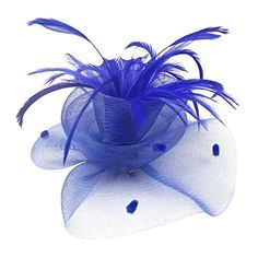 Uryouthstyle Royalblue Feather Party Hat Fascinators Hair Pillbox Wedding Accessory Uryouthstyle http://www.amazon.com/dp/B01EC1H50U/ref=cm_sw_r_pi_dp_N0Afxb1NCMZ4Z