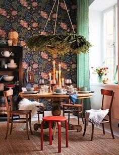 Несколько идей для праздничной сервировки   Пуфик - блог о дизайне интерьера