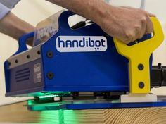 Handibot Is A Portable CNC Machine That Connects To Your Smart Device....This is sooooo Cool! I want one!!!