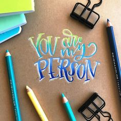 """2,365 Likes, 51 Comments - Amanda Pel Arneill (@amandaarneill) on Instagram: """"Note to my peeps... you're the best. (PS - I'm talking to you!) Tools: Prismacolor Premier…"""""""