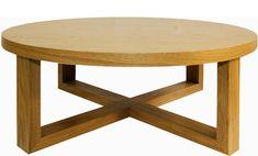 round wood coffee table ECme4bJL5