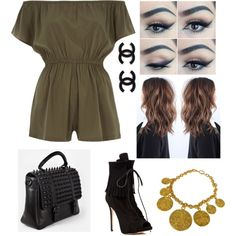 A fashion look from August 2015 featuring River Island, Giuseppe Zanotti ankle booties and RK New York messenger bags. Browse and shop related looks.