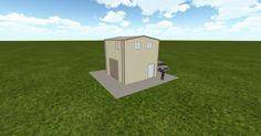 Cool 3D #marketing http://ift.tt/2p72pxA #barn #workshop #greenhouse #garage #roofing #DIY