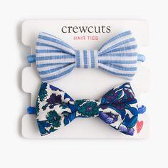 crewcuts Girls Fabric Bow Hair Ties