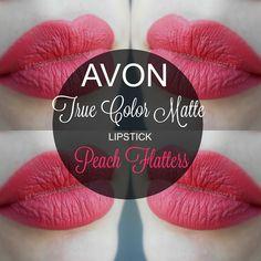 mela-e-cannella: Avon True Color Matte Lipstick - Peach Flatters