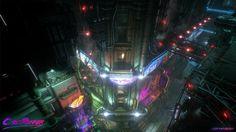 ArtStation - CyberRunner, Josh Van Zuylen