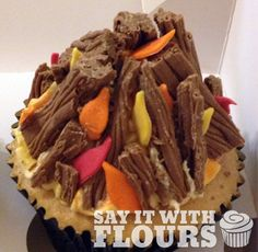Bonfire Night Cupcake