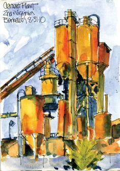Cathy McAuliffe, Urban Sketchers