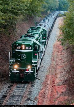 RailPictures.Net Photo: GRLW 3751 Greenville & Western EMD GP9 at Wiliamston, South Carolina by Will Jordan