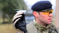 Army test next generation nano drone - the Black Hornet