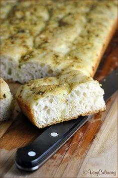 Beginner's Focaccia with Pesto recipe - easy enough for the novice bread baker!