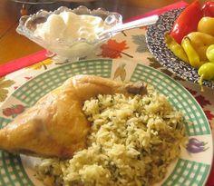 Spinach Rice with Chicken / © Besa Kosova