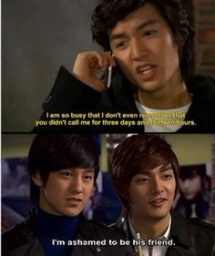 My first kdrama Boys Over Flowers. The best thing thats ever happened to me kdramas haha F4 Boys Over Flowers, Boys Before Flowers, Korean Drama Funny, Korean Drama Quotes, Korean Soap Opera, Fangirl, Drama Fever, All Meme, Kdrama Memes