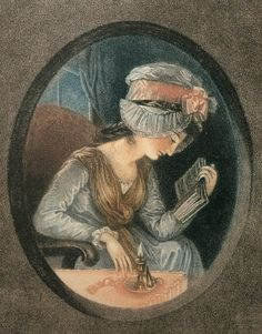 1. Read more books.  Image: 'Girl Reading a Book by Candlelight'. Painter unknown. France, date unknown. ©De Agostini/The British Library Board