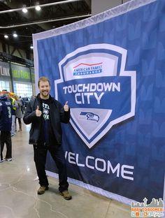 Verizon Experience at Touchdown City, CenturyLink Field #VZWBuzz #MoreSeattle ad Seattle