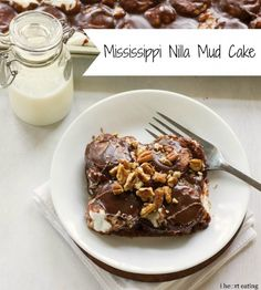 Mississippi Nilla Mud Cake - i heart eating