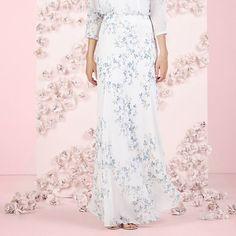 LC Lauren Conrad Runway Collection Tiered Ruffle Maxi Dress ...