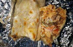Super Lomo Burrito at La Pasadita in Chicato