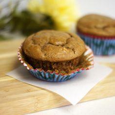 Flourless Peanut Butter Banana Muffins « Detoxinistahttp://detoxinista.com/2012/08/flourless-peanut-butter-banana-muffins/