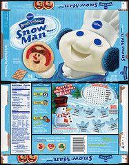 pills bury boxes packaging | Pillsbury Frosty The Snowman Cut n' Bake Cookies | Flickr - Photo ...