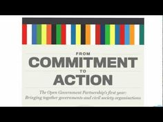THE OPEN GOVERNMENT PARTNERSHIP'S FIRST YEAR [INFOGRAPHIC]