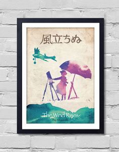 Miyazaki Poster Set 8 Poster by POSTERSHOT on Etsy