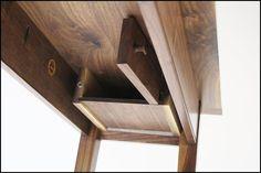 Secret compartment under the table
