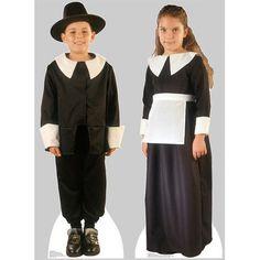 a28cdc187c618 Advanced Graphics 2 Piece Pilgrim Boy and Pilgrim Girl Cardboard Stand-Up  Set