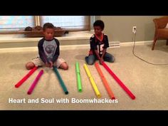 Heart And Soul on Boomwhackers! Good job guys!