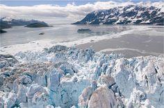 We never tire of the Hubbard Glacier.