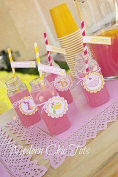Sunshine & Lemonade Party Invitations- You Are My Sunshine Invitations