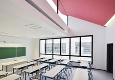 Bailly School Complex by Mikou Design Studio - Dezeen #interiors