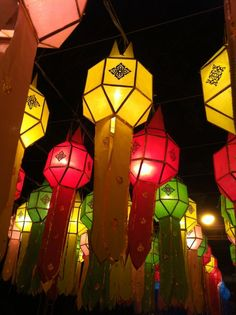 Lantern Festival in Chiangmai