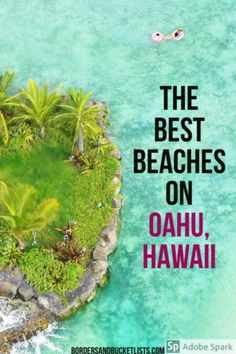 The island of Oahu, Hawaii is filled with stunning beaches. Whatever your preference, here are ten of the best beaches on Oahu. Hawaii Travel Guide, Usa Travel Guide, Travel Usa, Travel Tips, Spain Travel, Travel Guides, Hawaii Vacation, Oahu Hawaii, Maui