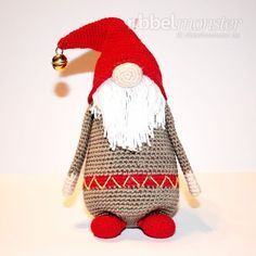 Mesmerizing Crochet an Amigurumi Rabbit Ideas. Lovely Crochet an Amigurumi Rabbit Ideas. Crochet Christmas Trees, Christmas Crochet Patterns, Christmas Gnome, Christmas Knitting, Crochet Patterns Amigurumi, Baby Knitting Patterns, Crochet Dolls, Afghan Patterns, Christmas Baby