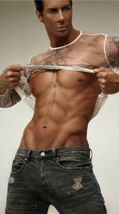 Vivid stripper man show