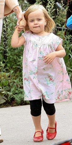 Vivienne Jolie-Pitt cutest little outfit