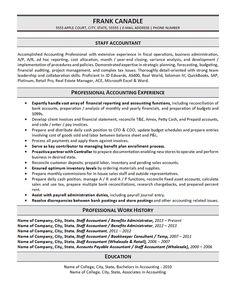 General Accountant Resume Template | Premium Resume Samples ...