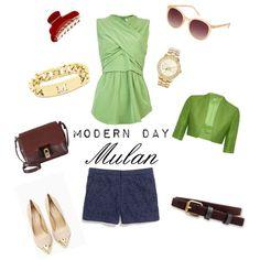 """Modern Day Mulan"" by heatherandlace on Polyvore"