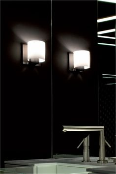 Tilee Wall Light by Flos -  Luminous light against white wall