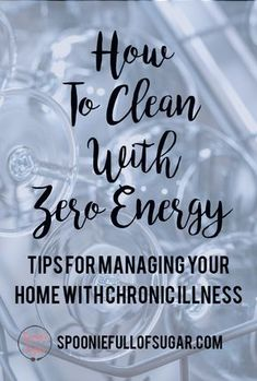 Wellness Tips For Cleaning and Managing Your Home With Chronic Illness and Fatigue - Does cleaning get the best of you every time? If you have a chronic illness or know somebody who has one, look no further for tips to a clean home. Deep Cleaning Tips, House Cleaning Tips, Spring Cleaning, Cleaning Hacks, Diy Hacks, Speed Cleaning, Fatigue Causes, Chronic Fatigue Syndrome, Adrenal Fatigue